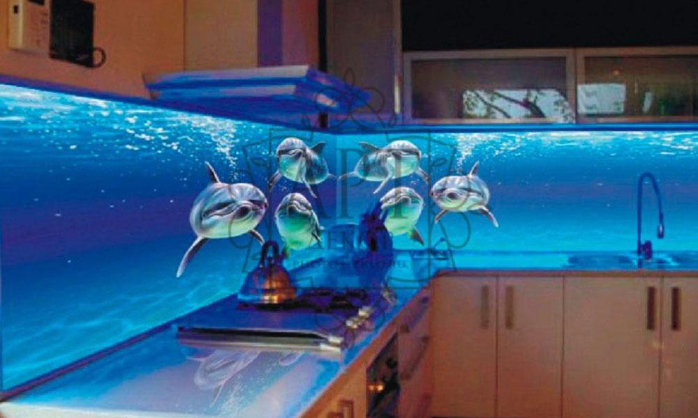 Дельфины 3D