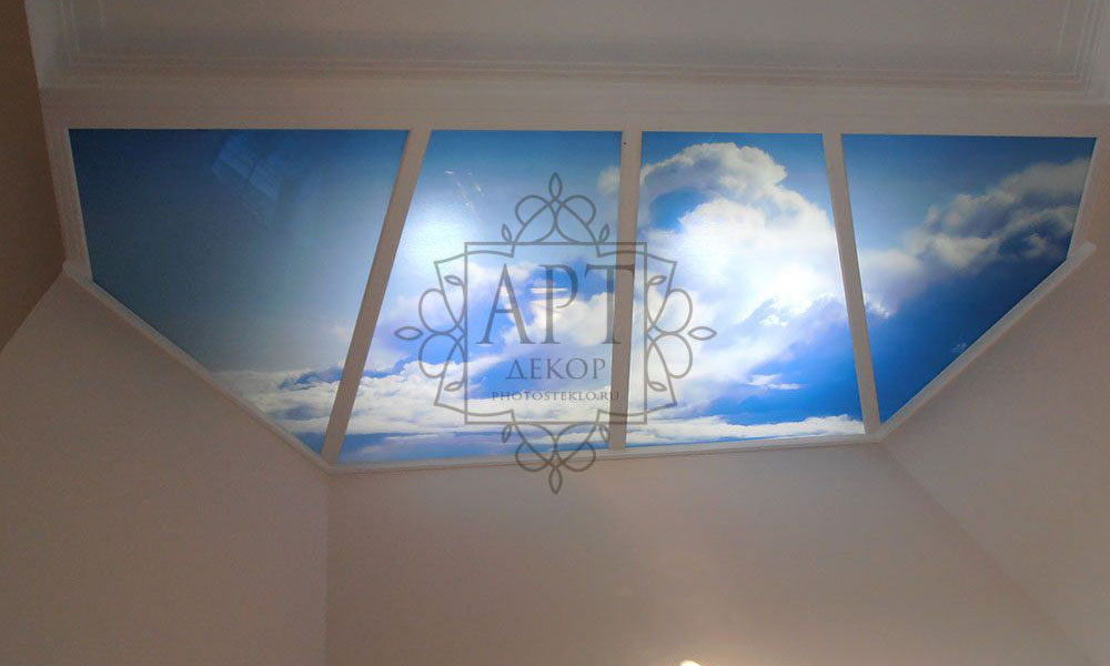 Небо потолок с подсветкой