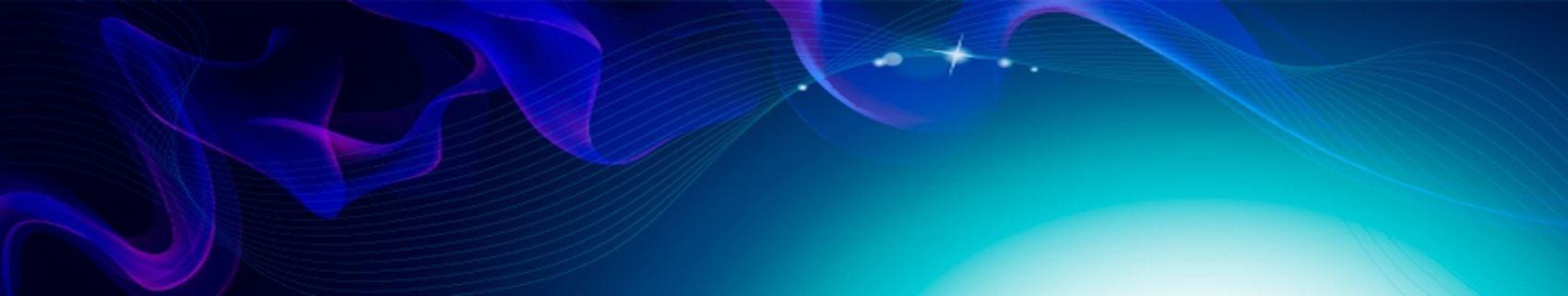 абстракция волны линии синие голубые