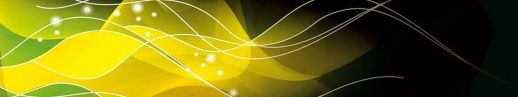 абстракция волны линии желтый зеленый цвет