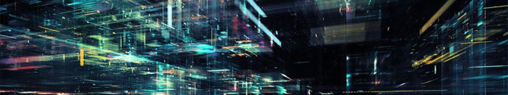 абстрактные светящиеся линии