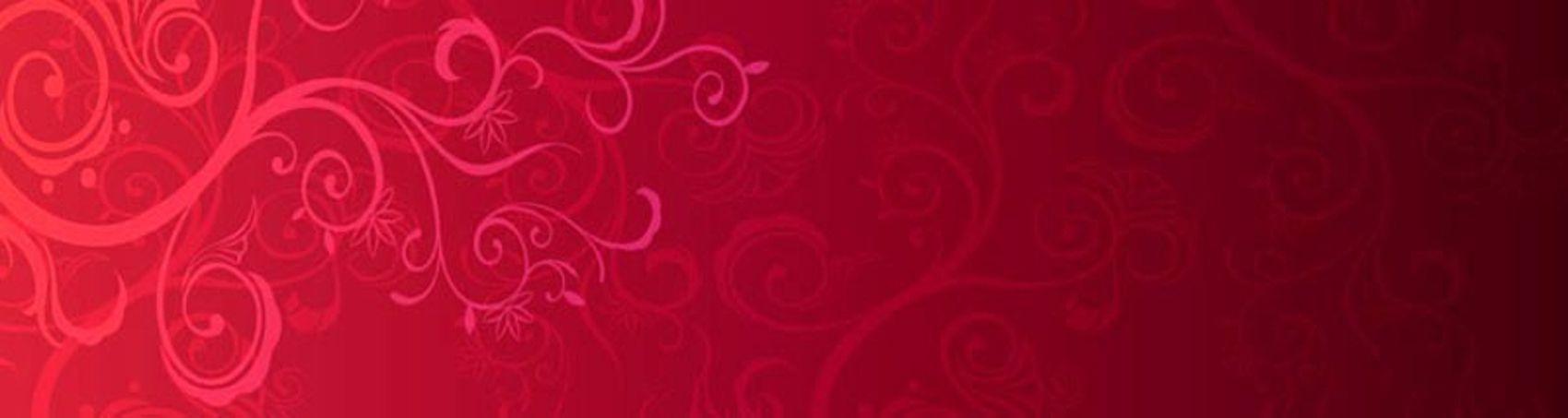 орнамент на красном фоне