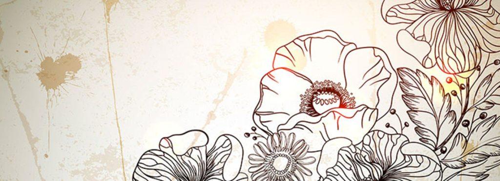 рисунок цветы