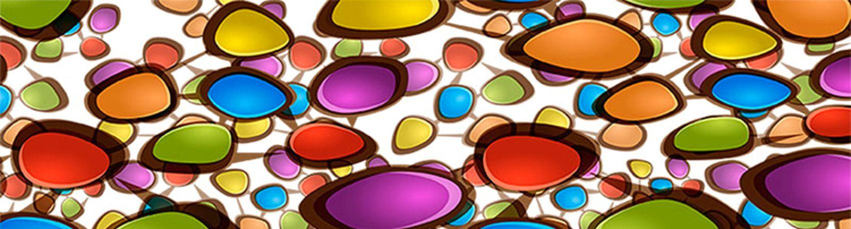 разноцветные камушки