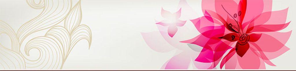 малиновые цветы