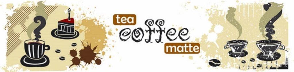 абстрактный кофейный коллаж
