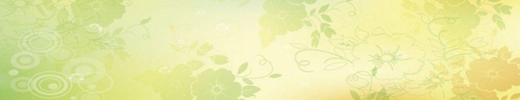 желто-зеленый цветочный фон