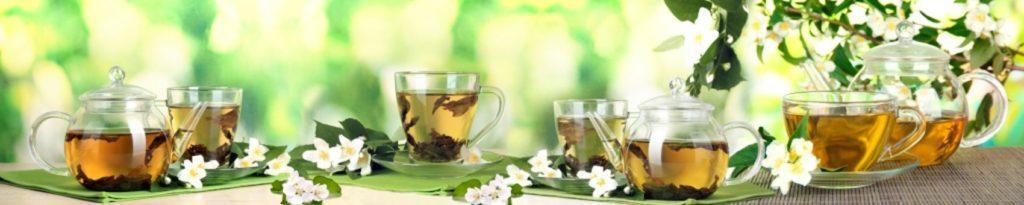 Чай с цветами