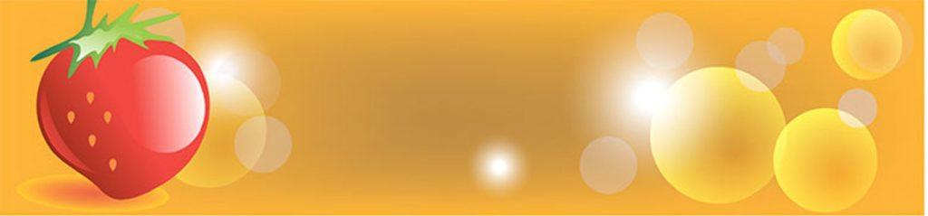 Помидор на оранжевом фоне