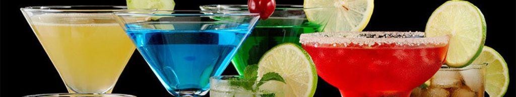 Скинали разноцветные коктейли
