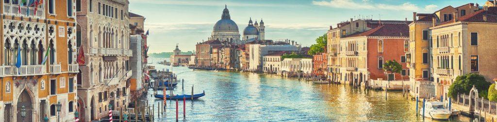 Венеция Гранд-канал и собор Санта-Мария делла Салюте