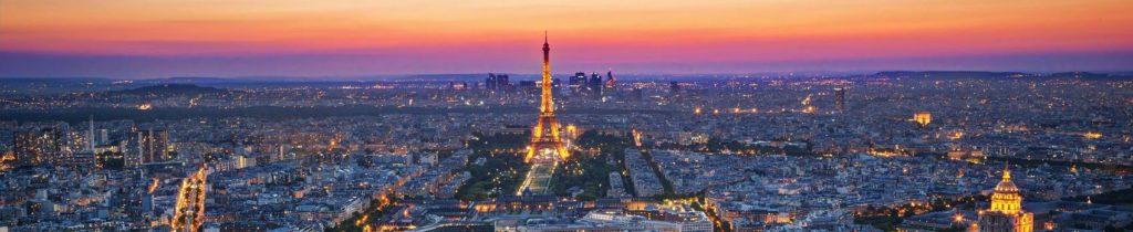 Париж на рассвете