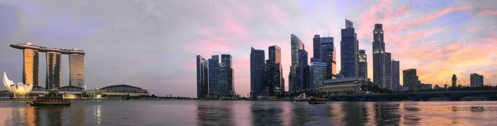 Рассвет в Сингапуре