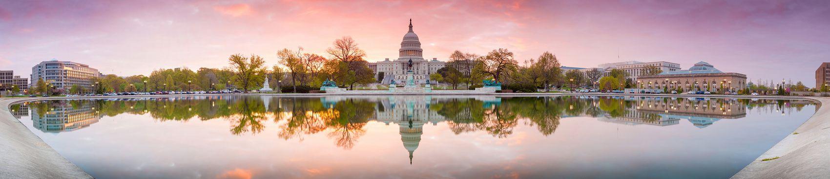 Капитолий в Вашингтоне США
