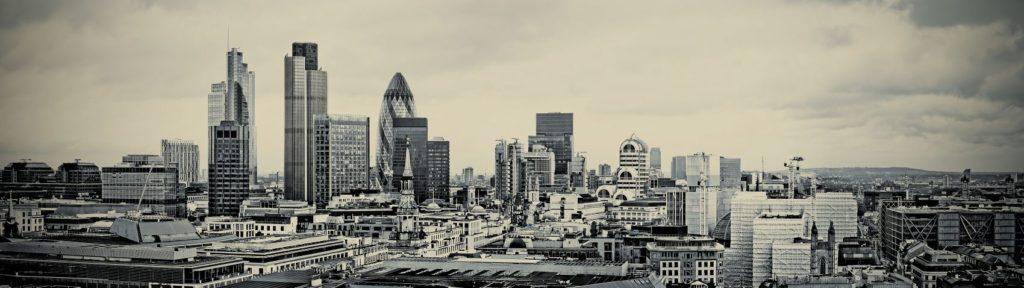 Лондон в черно-белых тонах
