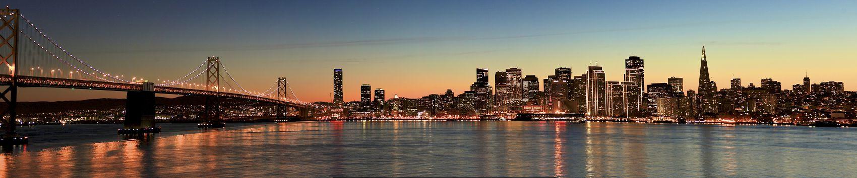 Закат в Сан-Франциско