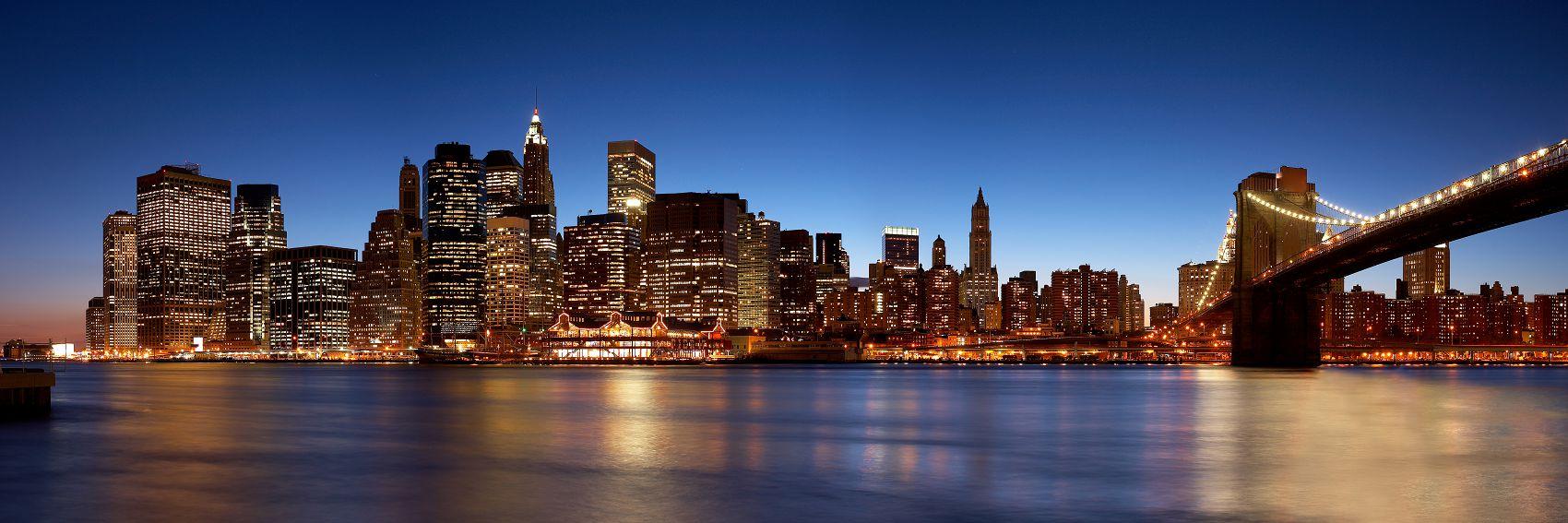 Нью-Йорк вечером