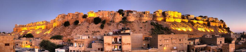 Голден Сити Форт Джайсалмер в Индии