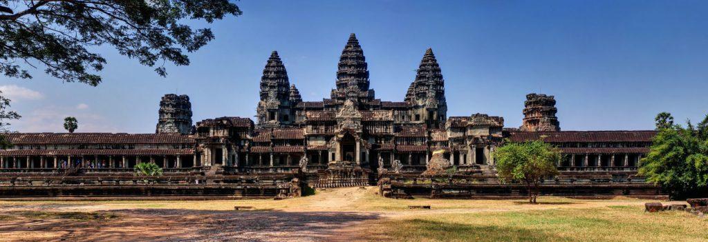 Ангкор-Ват Индуисткий храм в Камбодже