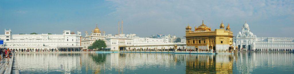 Золотой храм в городе Амристар Индия