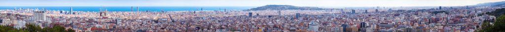 Супер панорама Барселоны