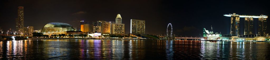 Все краски ночного Сингапура