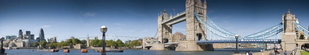 Вид на Тауэрский мост Лондон