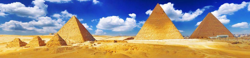 Египетские пирамиды Менкауара, Хеврена и Хеопса
