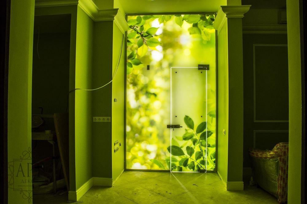 Дверь с подсветкой