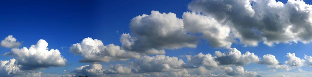 облачное небо