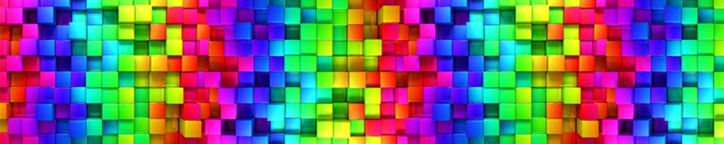 Цветные кубики 3д