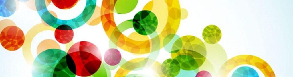 Разноцветные шары и круги