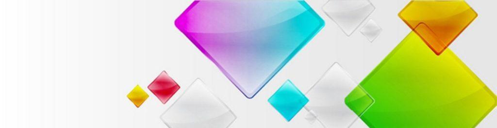 Цветное стекло ромбы
