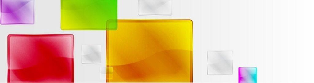Цветное стекло квадраты