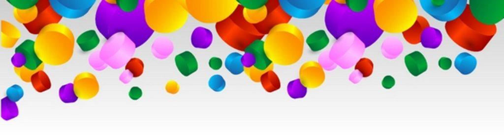 Разноцветные цилиндры