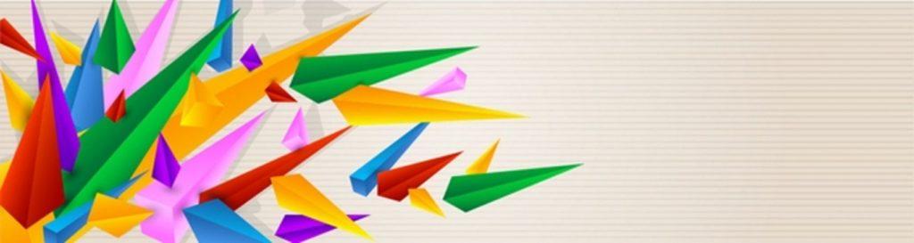 Разноцветные пирамиды
