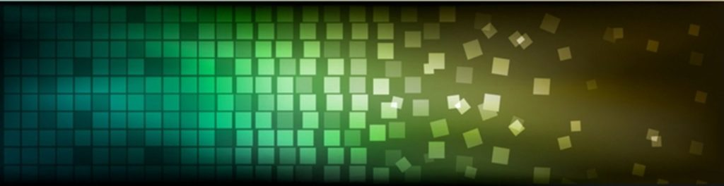 Голубая и зеленая мозайка