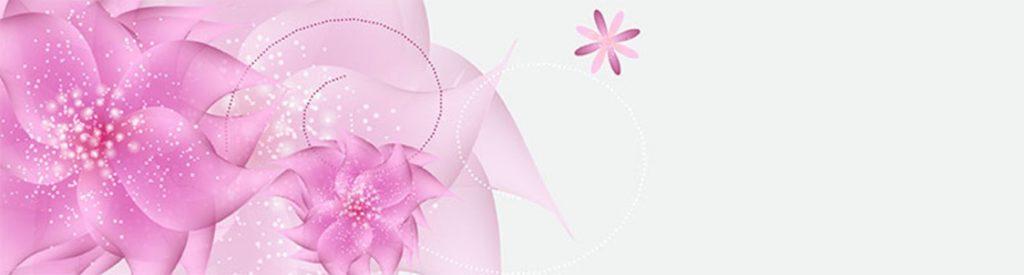 розовые узоры