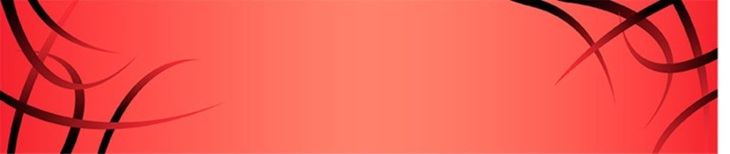 линии на красном фоне