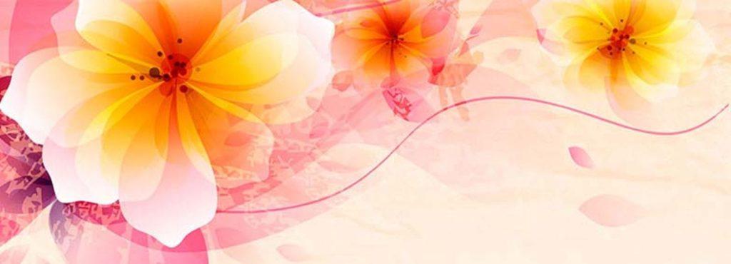 узорчатые цветы