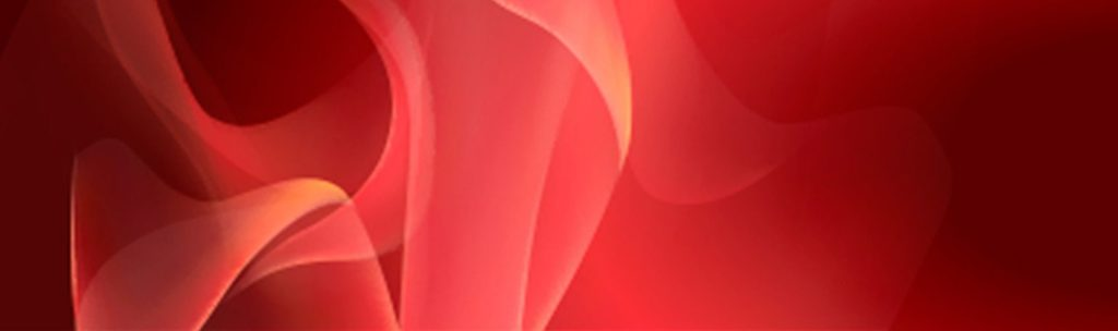 волны на красном фоне