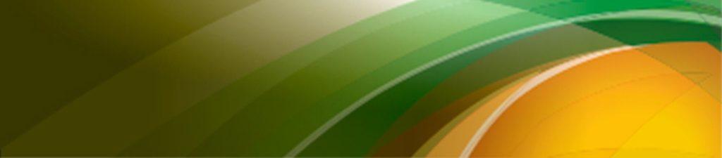 желтые и зеленые волны