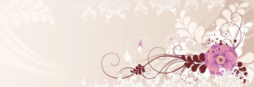 Цветок на бежевом фоне