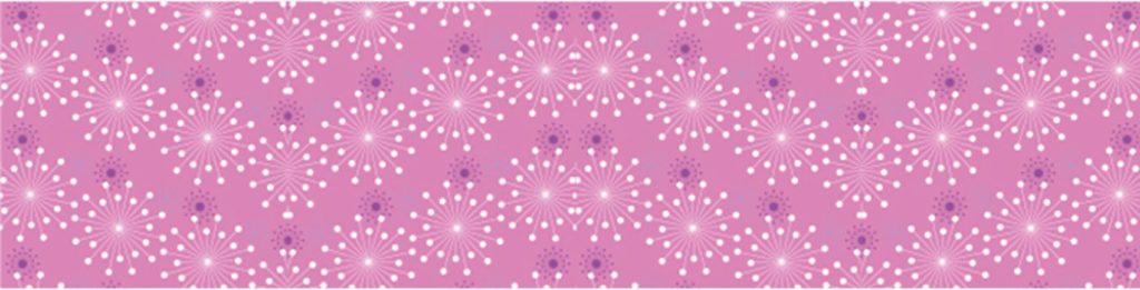 Абстрактный узор на розовом