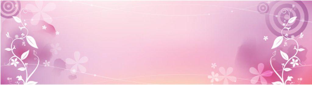 Белые растения на розовом фоне