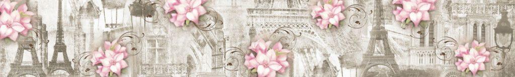 Эйфелева башня и лилии