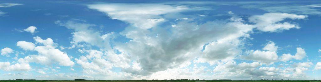 панорамное небо
