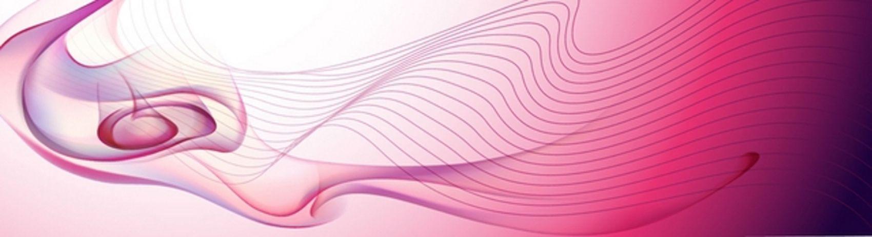 бело-розовая абстракция