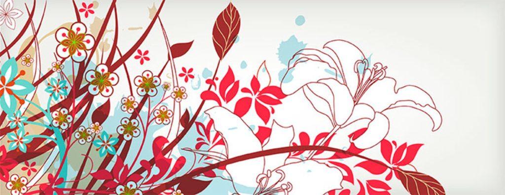 цветы и орнамент