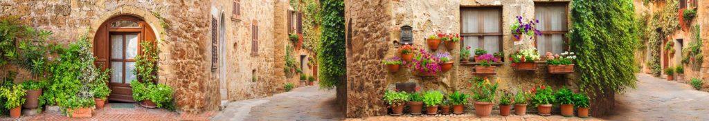Старинные улицы Италии скинали